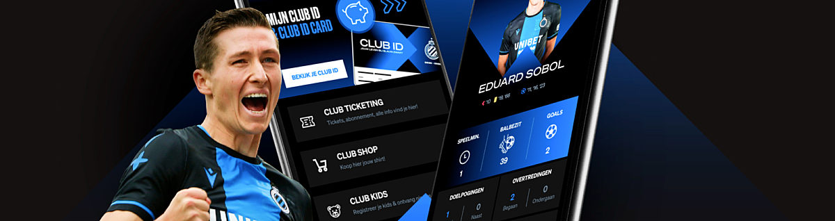 New app 2.0 full of innovation for Club Brugge fans