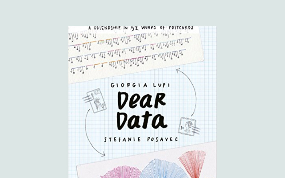 Dear Data by Giorgia Lupi &  Stefanie Posavec